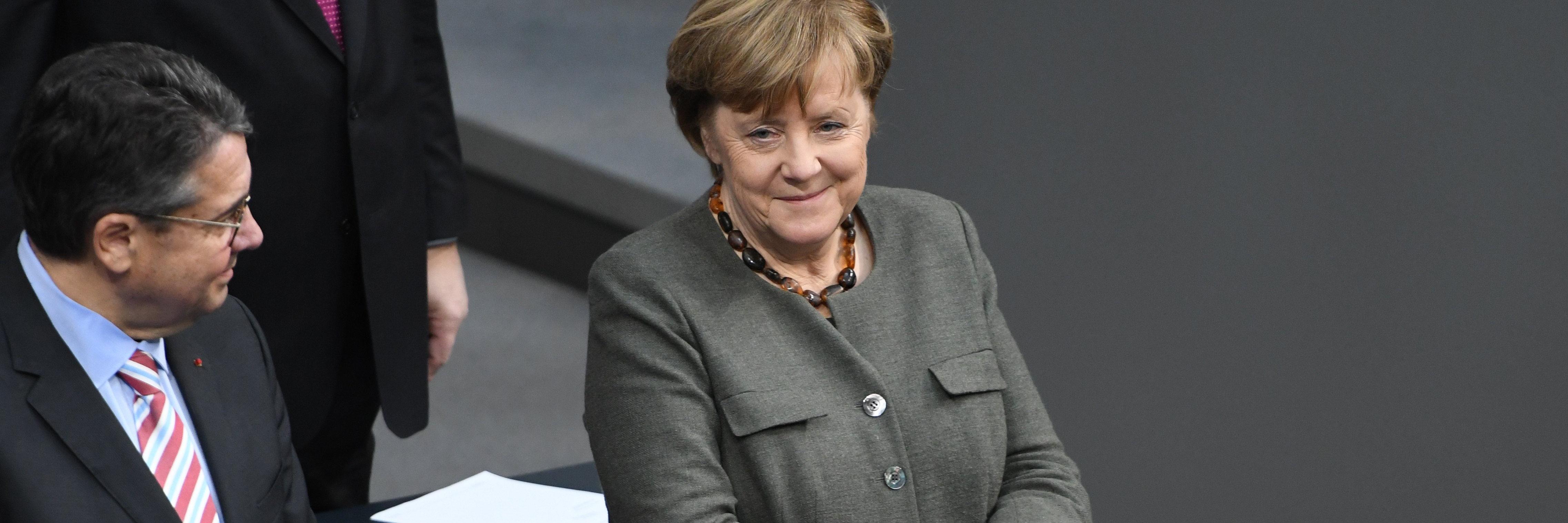 Gabriel, Merkel, 55 years of French German Elysee Treaty